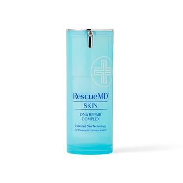 bottle of rescuemd skin dna repair complex